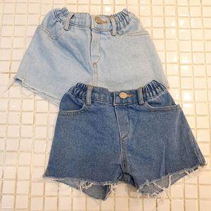 Kids Shorts Denim Baby Pants Children Jeans Summer Boys Clothes Girls Clothing Fashion Child Wear 1-7T B4639