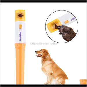 Supplies Home & Garden Drop Delivery 2021 Pet Grooming Grinder Trimmer File Kit Cat And Dog Electric Nail Clipper 9Kqr5
