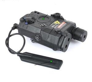 Airsoft Gun Light La5c PEQ15 Зеленый точечный лазерный прицел Tactical PEQ-15 Светодиодный фонарик Охотничьи Огни