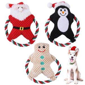 2021 Weihnachtsgeschenk Hundespielzeug Dekorative Objekte Figuren Weihnachten frecher Hamster reden Haustier Weiche Spielzeug Netter Sound