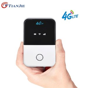 TIANJIE 150Mbps 3G 4G LTE wifi router CAT4 pocket Broadband spot Wireless wi fi modem with sim card slot 210918
