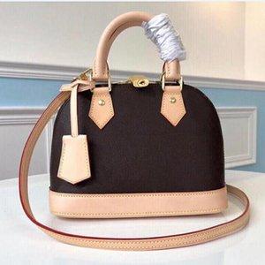 ALMA BB Handbag 25cm Golden Padlock Keys 2 Toron Handles Fitted with Detachable Strap Charming Small Bag Perfect for Crossbody Wear