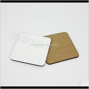 1010Cm Sublimation Wooden Blank Table Mats Heat Insulation Thermal Transfer Cup Pads Diy Coaster Party Favor Ffa44723 Ghi2P Y8Hp4