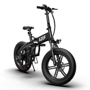 [ЕС stock] ADO Electric Bike 500W A20F 20 дюймов толстый шин бесщеточный мотор складной велосипед 36 В 10,4ах литий-ионный батареи Ebike