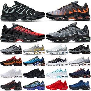 air max plus tn artı erkekler açık koşu ayakkabıları Üçlü Siyah Beyaz Oreo Hiper Mavi Açgözlü tns bayan erkek eğitmenler spor ayakkabı