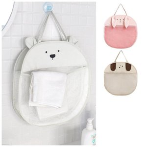 Stroller Parts & Accessories Cartoon Cute Animal Children Bath Toy Storage Bag Hanging Net Pouch Organizer Mesh Strong Suction Cup Game