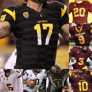 Custom Arizona State College Football Jerseys Terrell Ss Tillman Jayden Daniels Benjamin Aiyuk Darby Lole Kearse-Thomas Harry