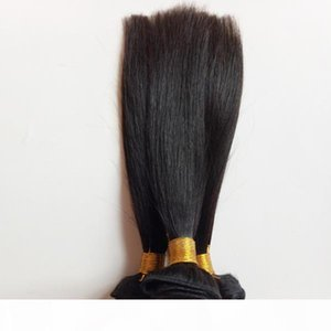 Brazilian virgin hair Natural black Straight 8-22inch Unprocessed Keep scale braided hair Europe and the United States high-end hair style