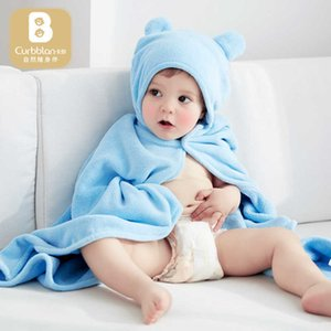 Cotton Care Toddler Blankets Kids Poncho s Stuff 65*110cm Baby Hooded Bath Towel Washcloth