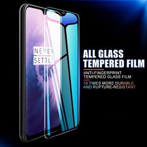 Funda completa templada cristal móvil, Protector de pantalla para OnePlus 7 , 6, 6T, 5, 5T, 3, 3T, 7, 7T, 3 uds.