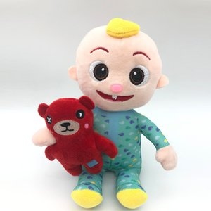 DHL Ship 2020 Cocomelon can Sing Toy Soft Music Cartoon Family Cocomelon Jj Family Sister Brother Mom And Dad Toy Dall Kids Chritmas Gifts