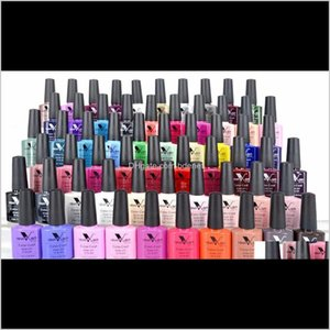 7Dot5Ml Soak Off Canni Nail Supply Wholesale Uv Gel Lacquer Led Color Art Glitter Polish Lamp Slnzc 6Srvv