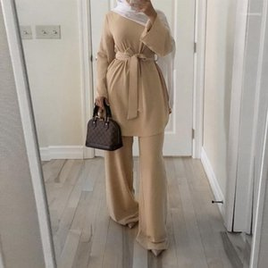 Caftan Marocain Dubai Abaya Turkish Set Muslim Hijab Dress Moroccan Kaftan Robe Islam Elbise Islamic Clothing For women Ropa11