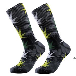 13 Colors christmas plantlife fashion socks for men women high quality cotton socks skateboard hiphop maple leaf sport socks LLD11204
