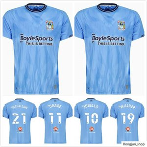 2021 2022 Coventry City Футбол Джетки Ostigard Jackello Walker McCallum Da Costa Hamer 21 22 Домашний синий футбол