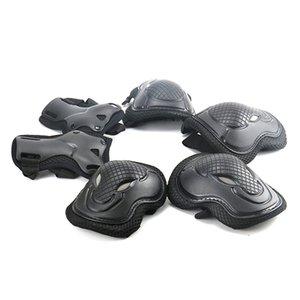 6pcs set Skating Protective Gear Set Elbow pads Bicycle Skateboard Ice Skate Roller Bike Knee Protector For Adult Kids Men Women 1400 Z2