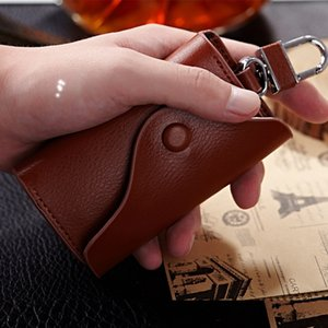 Wallets Car Business Multi Function Key Case Leather