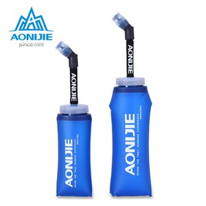 SD13 350ml 600ml Folding Collapsible Soft Flask Water Bottle BPA Free For Runninng Jogging Hydration Bladder Pack Vest