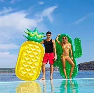 Wholesale-Inflatable Giant Swim Pool Floats Raft Swimming Water Fun Sports Seat Beach Toy for Adult Baby Child Air Mattresses Life Buoy