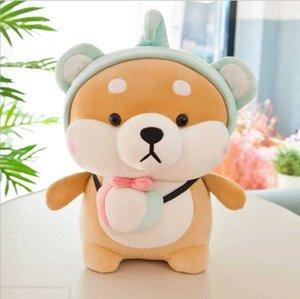 뜨거운 제품 귀여운 개 아키타 인형 5 스타일 귀여운 시바 이누 어린이 인형 베개 쿠션 플러시 장난감