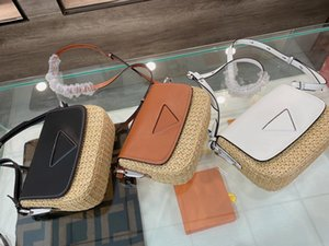 2021 luxury woven bag lady temperament brand designer's messenger fashion leather shoulder bags size 20*5*16cm