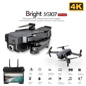 Drones SG107 Mini Drone 4K WIFI FPV HD Camera Profesional Dual Optical Flow 50X Time Zoom Quadcopter RC Dron