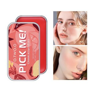 O.TWO.O Multi-Use Makeup Set 3 In 1 Lipstick Blush Soap Eyeshadow Palette Waterproof Long-Lasting Cosmetics For Face