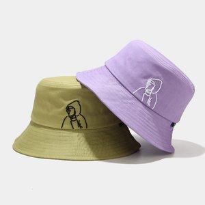 Leisure fisherman's hat female summer outdoor versatile lovely simple basin hat female student couple Fashion sunshade hat fashion