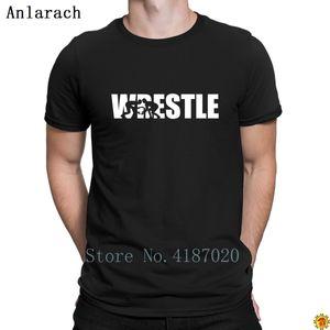 Factory1Gy3 Calidad Original Trendy Top Wrestle T-shirts T-shirts T Shirt Lindo edificio de impresión Anlarach o cuello