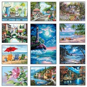 Diy Painting 5d Full Embroidery Landscape Sale Diamond Mosaic Cross Stitch Set Home Decor