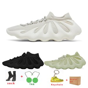 kanye 450 mens running shoes womens Cloud White Dark Slate Resin Breathable fashion sports sneaker trainer size 36-45