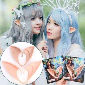 Halloween cosplay ears High Simulation Soft Harmless False Ears Props Fairy Angel Dress Up Cosplay Hook Decor