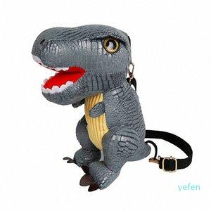 2021 New Dinosaur Kids School Bags For Boys Kindergarten School Backpacks For Girls Creative Animals Kids Bag Mochila Infantil J3mj#
