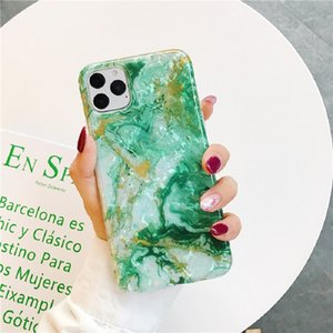 iphone case Slim Soft TPU Marble IMD Protective Cover For apple phone anti-shock