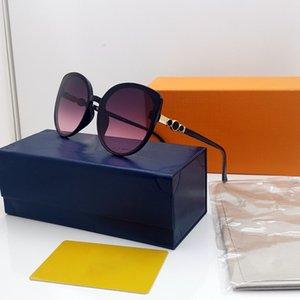 Frauen Sonnenbrille Katze Eye Frauen Mode Brille Outdoor Sonnenbrille Full Frame Goggle Oval UV400 Sonnenbrille Grün 3692