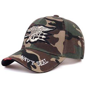 Moda Erkek ABD Donanması Beyzbol Şapkası Donanma Mühürleri Kapaklar Taktik Ordu Kap Kamyon Şoförü Pamuk Snapback Şapka Yetişkin Hip Hop Şapka Gorras