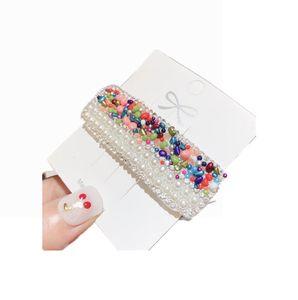 038 New Sparkle hair clip Crystal duck bill clip Women Girls Hair Accessories Beautiful Hair Comb Pin Clips