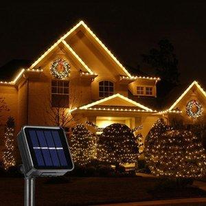 Strings Solar Led Light Outdoor 50 100 200 300LED Fairy Lights Christmas Street Garland Waterproof Festoon Garden Decor