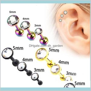 Tunnels Body Drop Delivery 2021 Highquality Stainless Steel Ear Bone Nails With Ball Earrings Stud Piercing Plugs Tunnel Jewelry Wholesale Vw