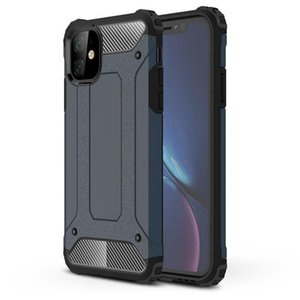 Cell Phone Pouches For 12 Pro Max Case Hard PC TPU Hybrid Armor Back Cover 11 6 6s 8 7 Plus X XR XS Luxury Shockproof Capa