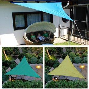 Shade 3X3X3M Waterproof Triple-Cornered Sun Shelter Awning Parasol Outdoor Canopy Garden Patio Sail Cloth