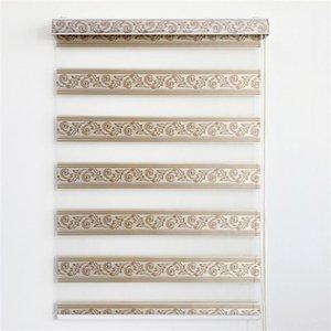 Blinds Modern Home Decoration Blackout Zebra Roller With Nice Jacquard Design For Living Room Shower Bathroom #LS6016