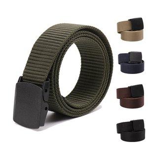 Men's Belt Nylon Fabric Belt Military Outdoor Belt Style Cinturon Male Belts For Men Luxury Ceinture Tissu 646 Z2