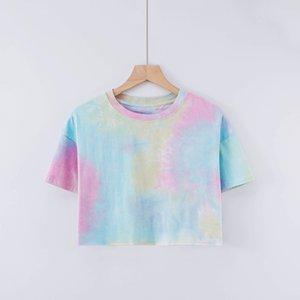 2021 yu Fashion T Shirts For Men Tops Letter Joint printing Mens Womens Clothing Short Sleeved Tshirt Tees