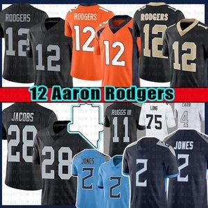 28 Josh Jacobs 12 Aaron Rodgers 2 Julio Jones Football Jersey 4 Derek Carr 98 Maxx Crosby 11 Henry Ruggs III Darren Waller Bo Jackson Howie Long Marshawn Lynch