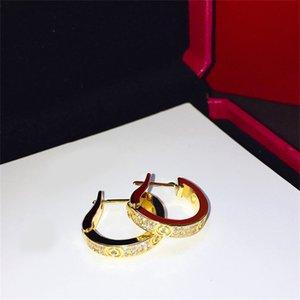 Designer Jewelry stud women Loves Earrings cleef Necklaces carti Screw Bracelet Van Party Ring Wedding Bangles Couple Gift bracelets Fashion Luxury jyugkhu