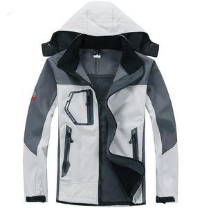 2021 Новые Куртки Мужской Открытый Ветрозащитный Водонепроницаемый Повседневная Мягкая оболочка Теплые NF Пальто Дамы Мужское Пальто