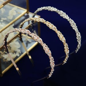 Hair Clips & Barrettes Fashion Simple Crystal Wedding Tiaras Crowns Headpieces Evening Accessories Jewelry
