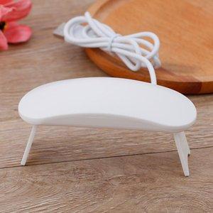 Nail Dryers 6W Dryer Machine UV LED Lamp Portable Micro USB Cable Home Use Gel Varnish 3 LEDS Art Tools