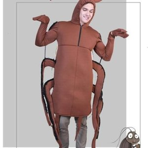 Costumes Adult Mens Theme Party Funny Mascot Costumes Classic Carnival and Halloween Apparel Halloween Cockroach Uniform